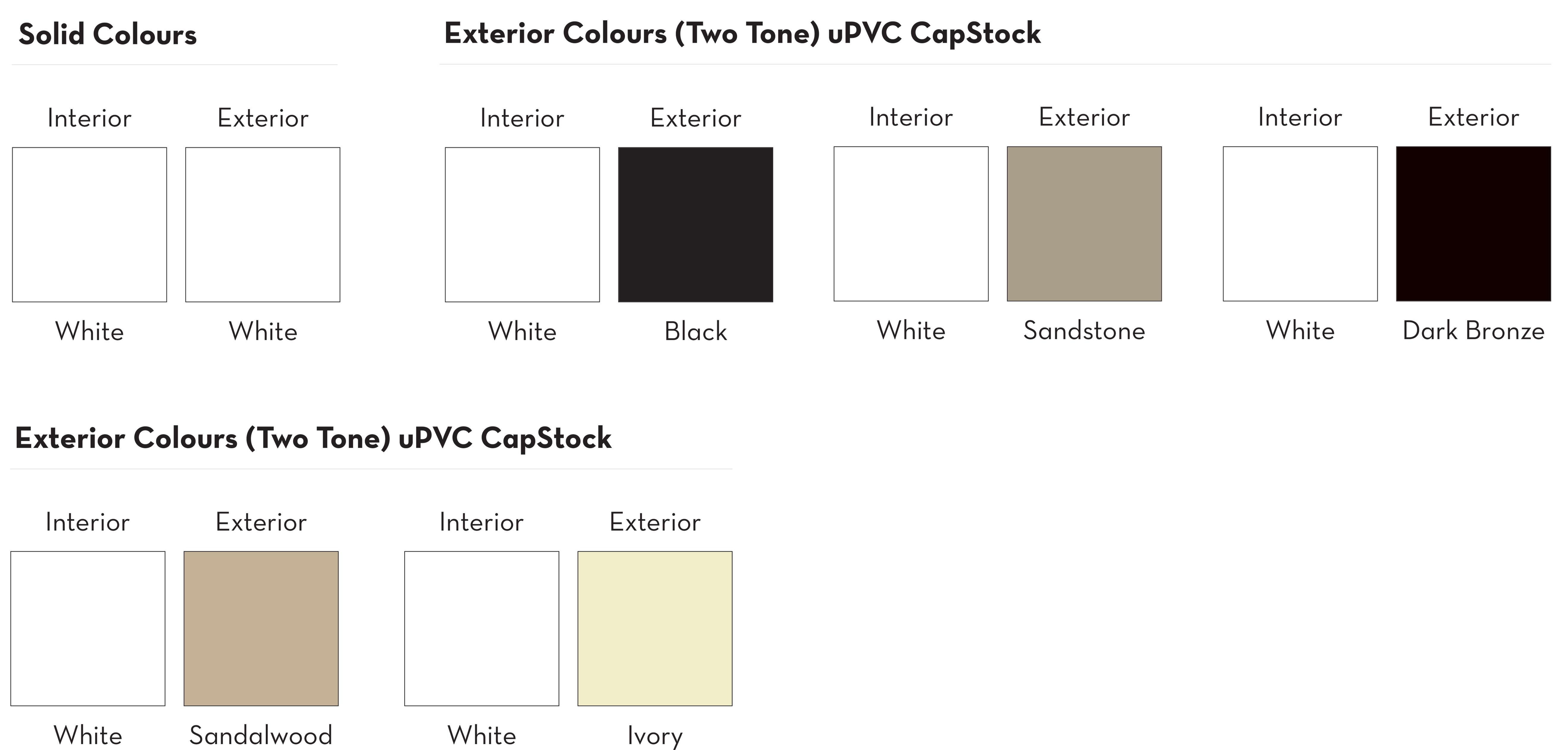 Windows Int/Ext Colours