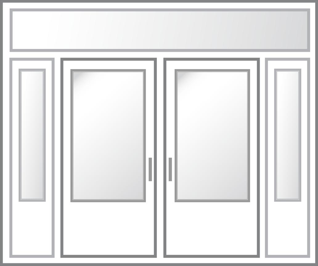 Entry Door - Color Illustration