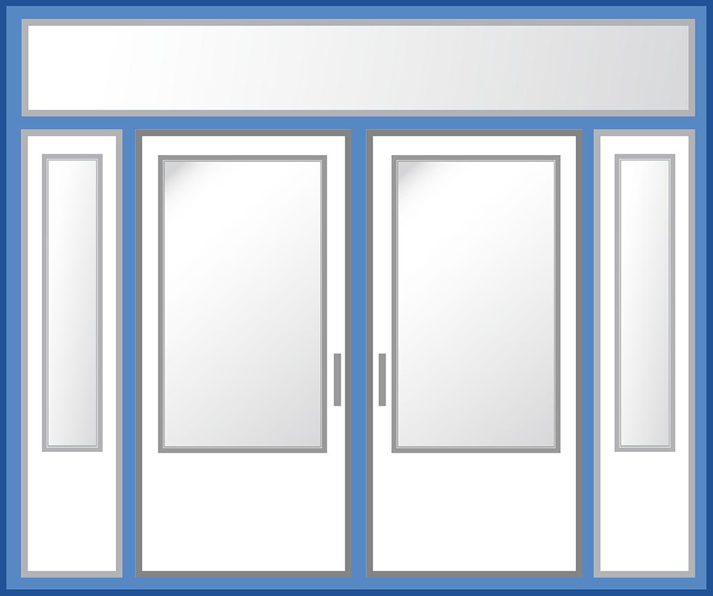 Entry Door - Frame Illustration