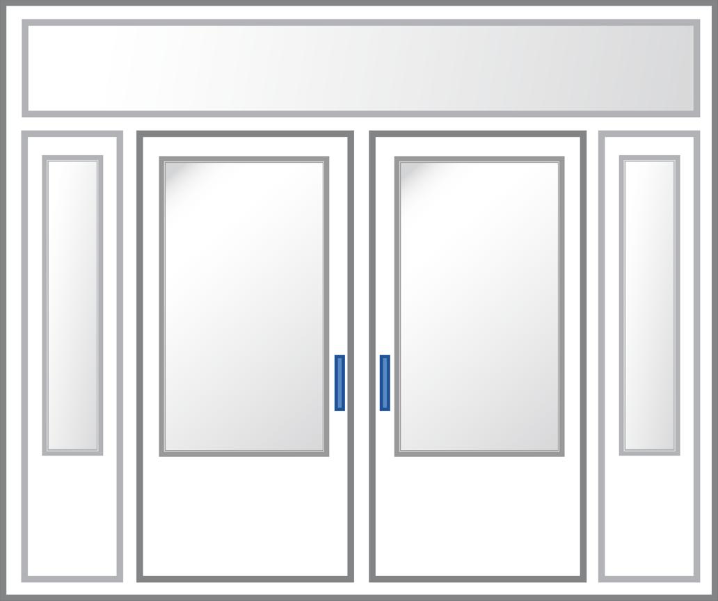Entry Door - Hardware Illustration