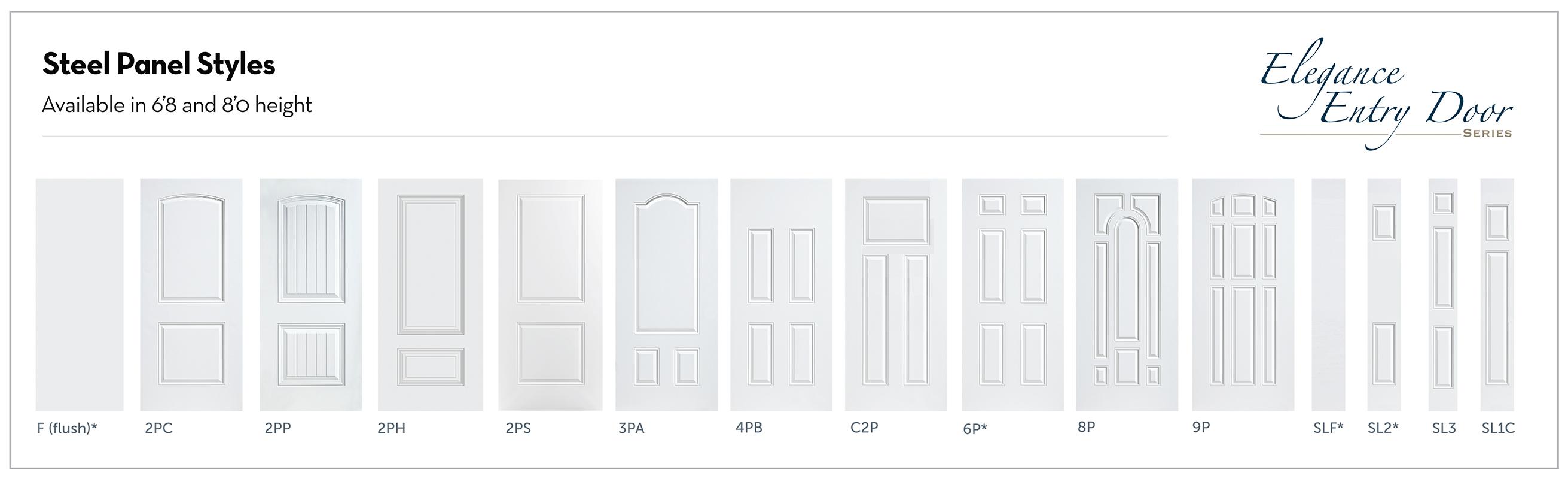 Entry Door -Steel Panels