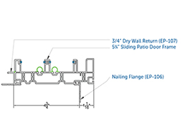 Prod Acc - Patio Door - Frames