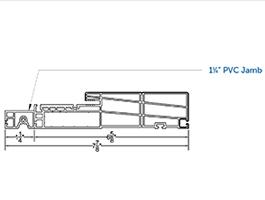 Product Accessories Frame - Swing Patio Door