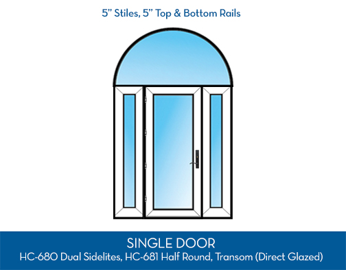Patio Doors Configuration - Swing