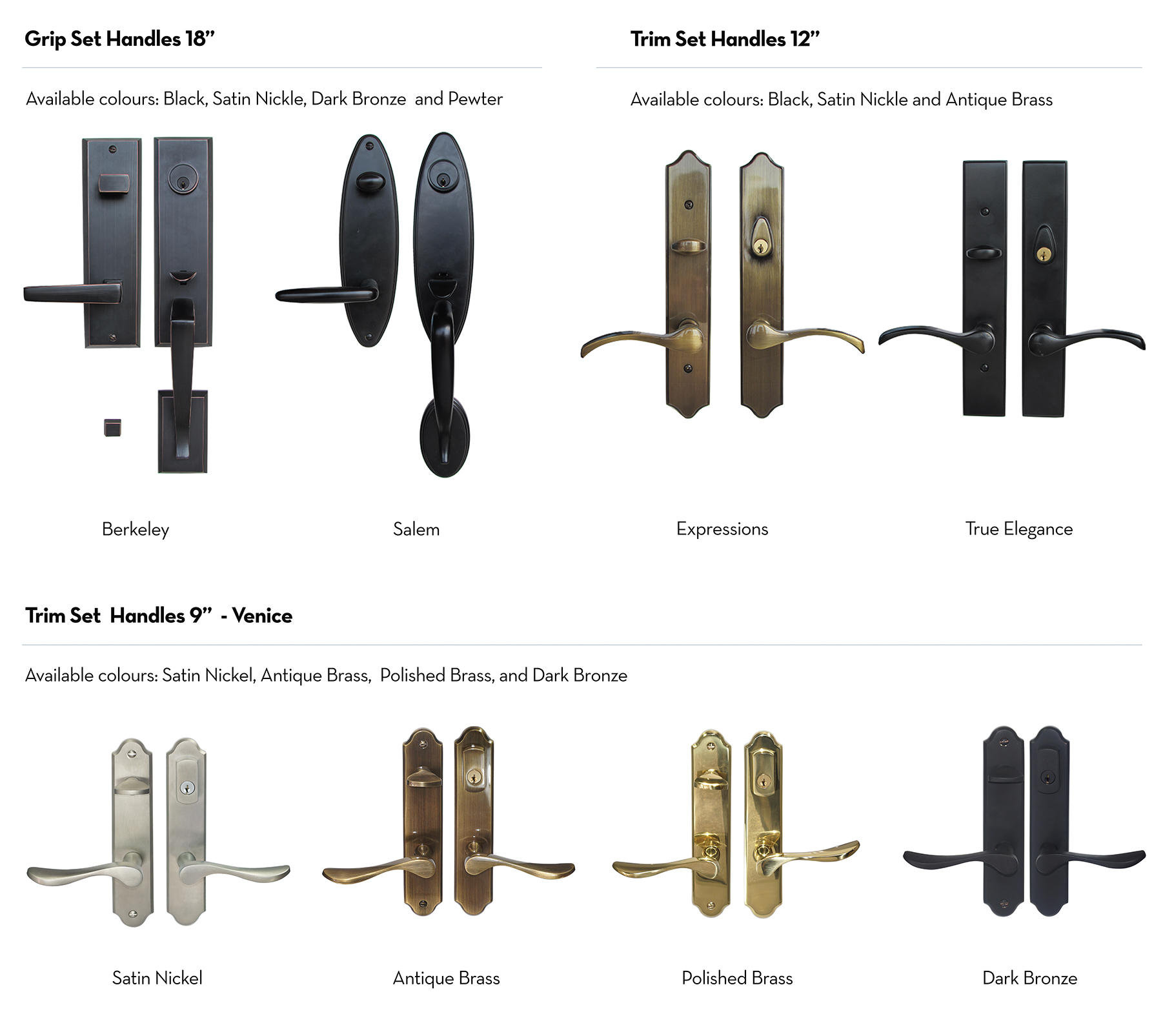 Entry Doors - Hardware