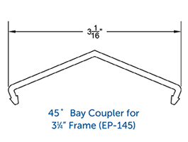 Windows Accessories - Couplers (Bay&BOW)