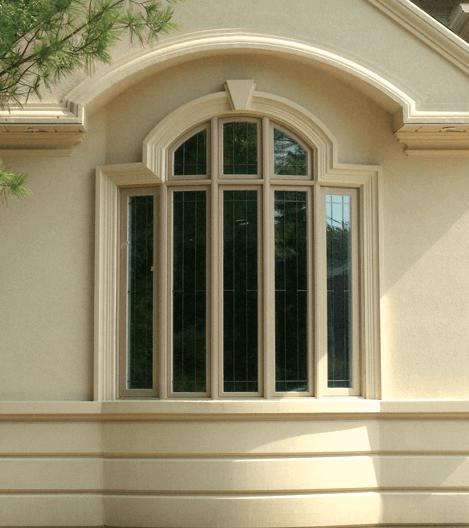 Bow Vinyl Windows