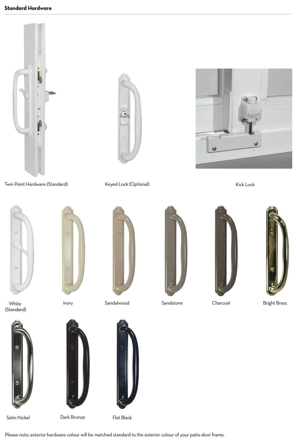 Patio Doors - Handle