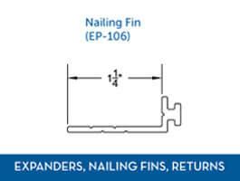 Awning window Expander Nail Fin Return2