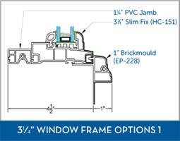 Awning Window Frame option1