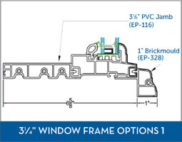 Awning Window Frame option2