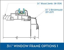 Awning Window Frame option3