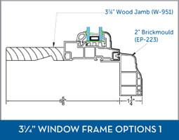 Awning Window Frame option4