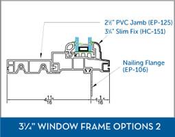 Awning Window Frame option5