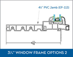 Awning Window Frame option6