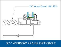Awning Window Frame option7