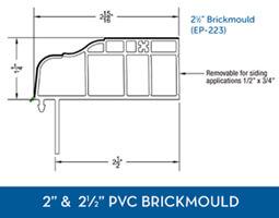 Awning windows - PVC Brick Mould10