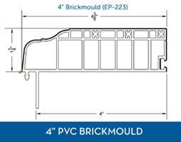 Awning windows - PVC Brick Mould13
