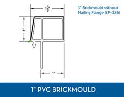 Awning windows - PVC Brick Mould2