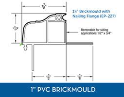 Awning windows - PVC Brick Mould7