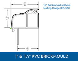 Awning windows - PVC Brick Mould8