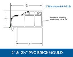 Awning windows - PVC Brick Mould9