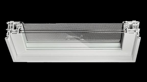 Vinyl Window WC425 CrossSection Display Image