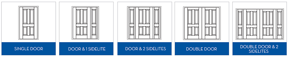 Entry Door Configurations