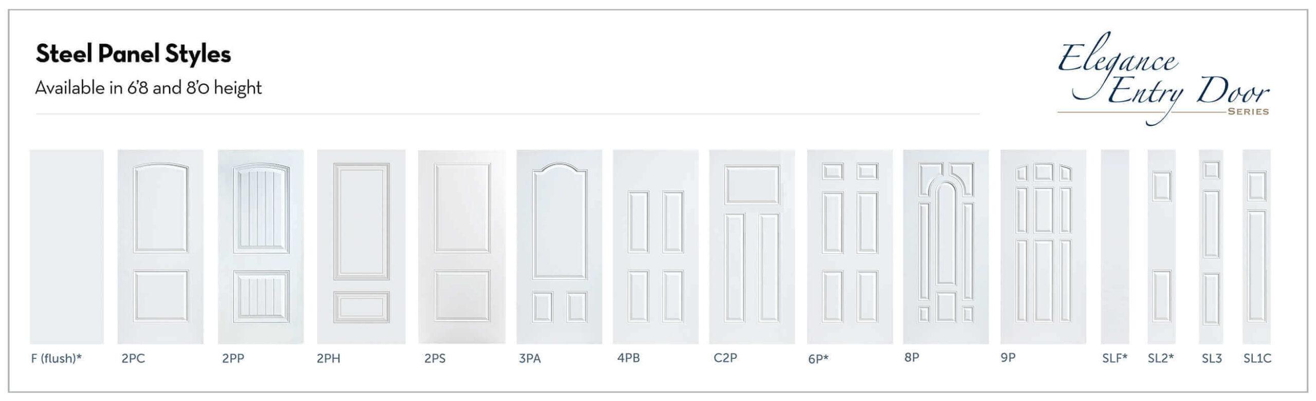 Entry Door SteelFiber Glass