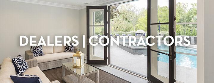 Vinyl Window Dealers & Contractors Banner