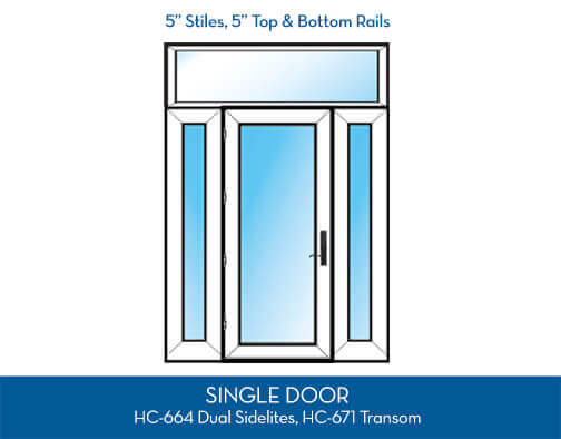 Patio Door SwingConfiguration Option8