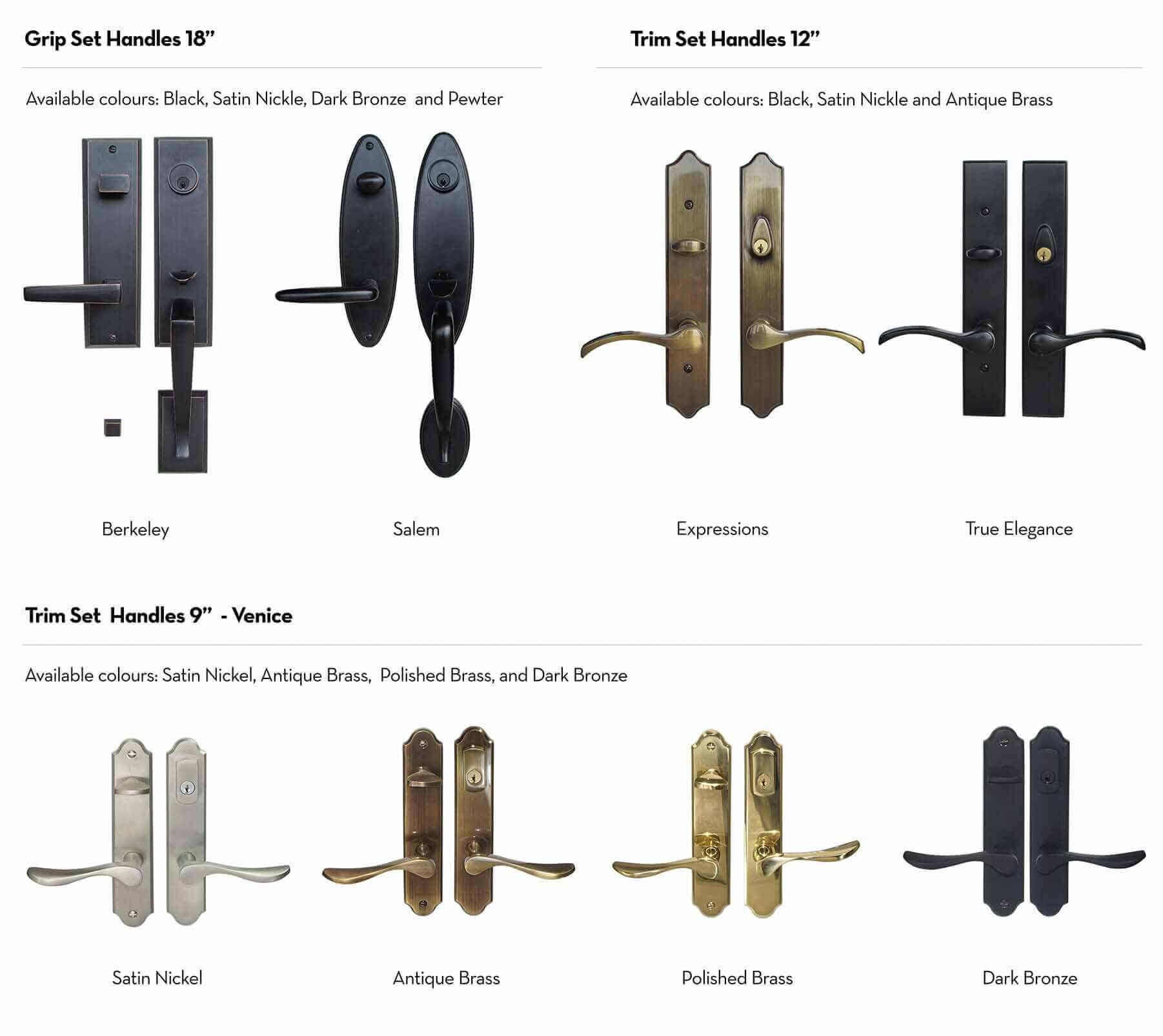 Entry Door Hardware